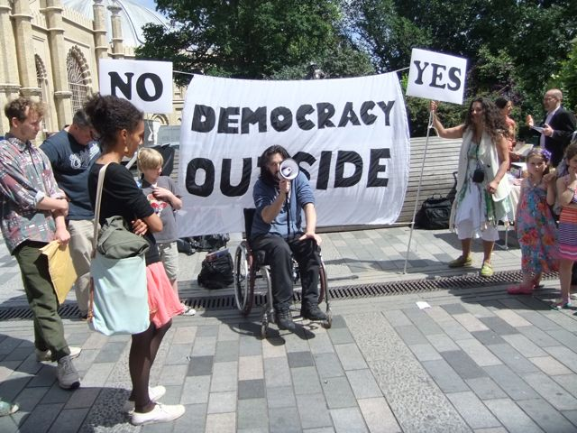Democracy Outside Brighton